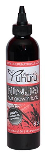Uhuru Naturals Limited time sale Ninja Hair New Shipping Free Growth Contains All-Natural Be - Tonic