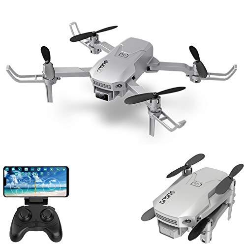KKmoon Drone RC com câmera 4K Mini Drone Quadcóptero dobrável para crianças com função Trajetória Voo sem cabeça Modo 3D Voo Auto Hover One Key Takeoff Landing