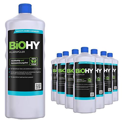 BIOHY wasverzachter 9 x 1 Liter