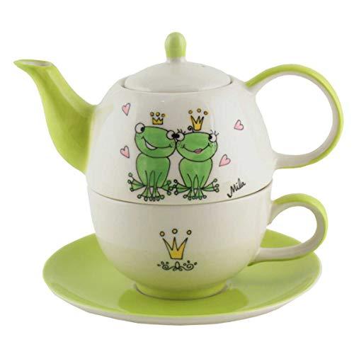 440s Mila Keramik Tee-Set Tea for One True Love 2 | MI-99200 | 4045303992009