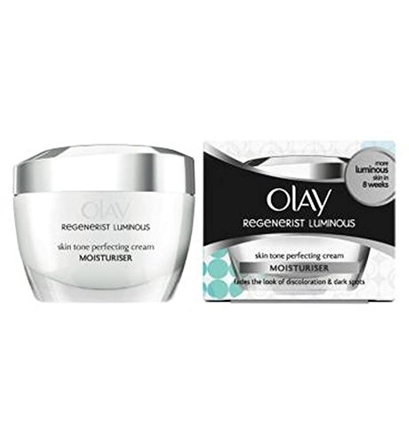 帝国ピカリングだらしないデイクリーム50ミリリットルを完成オーレイリジェネ発光肌のトーン (Olay) (x2) - Olay Regenerist Luminous Skin Tone Perfecting Day Cream 50ml (Pack of 2) [並行輸入品]
