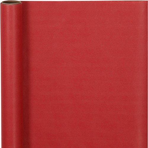 Geschenkpapier, B: 50 cm, rot, 5 m