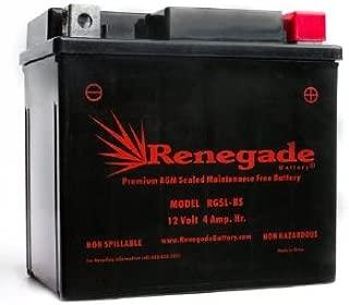 ATV Battery; RG5L-BS; Arctic Cat 2004, 2005, 2006, 2007, 2008, 2009, 2010, 2011, 2012, 2013, 2014 90 2x4 4-Stroke, 90 2x4 SE, DVX 90, DVX 90 SE, DVX 50; Part# ES5L-BS, PTX5LBS-FS, BTX5L-BS, CB5L-B