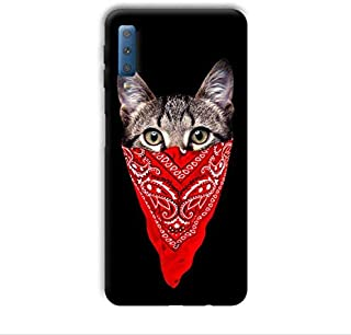 Case Box Cat with Scarf back cover for Samsung Galaxy M30