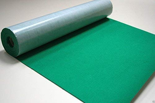 1//2 Metre x 450mm wide roll of BLACK STICKY BACK SELF ADHESIVE FELT BAIZE