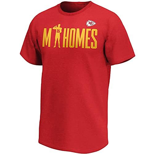 Fanatics Patrick Mahomes Kansas City Chiefs Checkdown NFL T-Shirt Rot, M