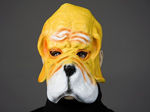 Demi-masque pour chien adulte