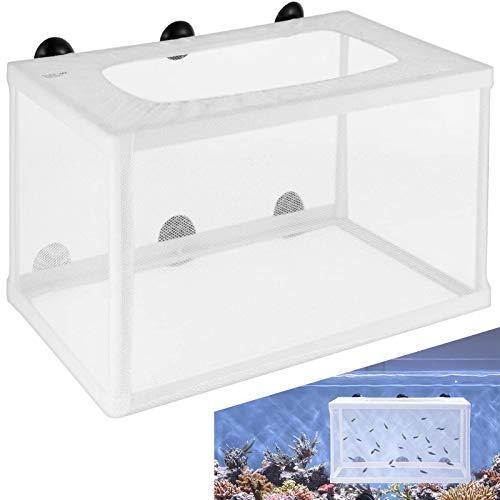 Allevamento Box Floating La Deposizione Delle Uova Di Sicurezza Per Animali Serbatoi Pesci Incubatore Acquario Isolamento Rete Dei Pesci Per Tutti i Tipi Di Acquari Acqua Fredda Tropicale e Mare Pesce
