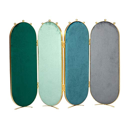 Preisvergleich Produktbild Schmuckständer Aufbewahrung Haushalt Schmuck Display Rack Ohrringe Halskette Storage Rack Shop Display Schmuck-Rack Perfekte (Color : Green,  Size : 48.5 * 33cm)