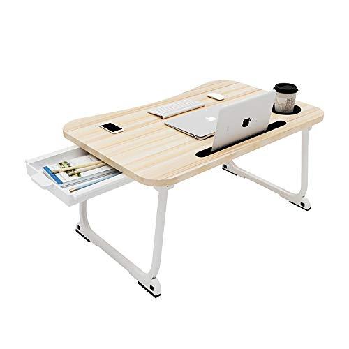 LRQHHZYQ Notebook salontafel, aluminiumlegering, laptoptafel, bedtafel voor lezen of ontbijt en tekentafel, laptops, opvouwbaar