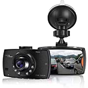 FKH Upgraded Dash Cam 1080P Dashcam for Car Dash Camera with Super Night Vision, Built in G-Sensor, Loop Recording,Parking Monitor and Motion Detection(2021 Newest Version)