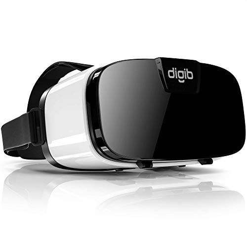 VR Headset for iPhone and Android Phones - Virtual Reality Goggles | Comfortable & Adjustable VR Glasses | Play Your Best Mobile 3D Games 360 Movies - Great Gift for Kids and Adults