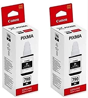 Canon 790 Twin Combo Ink Bottle Cartridge [Set of 2 Bottle] ( GI 790 ) Black