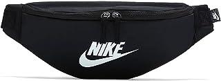 Nike Unisex's Heritage Waistpack-Fa21 Waistpack, Black/Black/White, One Size