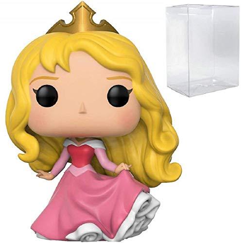 Funko Pop! Disney Princess: Sleeping Beauty - Figura de vinilo de Aurora (incluye estuche protector de caja de pop)