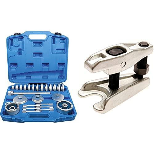 BGS 67301 | Radlager-Werkzeug-Satz | 31-tlg. | Radlager-Abzieher | Radnabe | Ausdrücker | Montage Demontage & Kugelgelenk-Ausdrücker | 20 mm | für alle Fahrzeugtypen im Pkw-Bereich