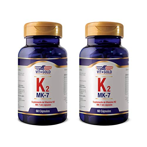 Vitamina K2-2 unidades de 60 Cápsulas - VitGold