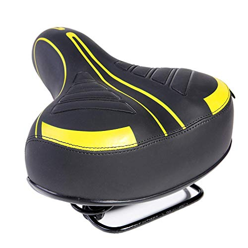 CHENYE Waterproof Comfort Bike Seat, High Density Memory Foam Bicycle Saddle for Men Women, Universal Fit Saddle with Tools, Easy to Install