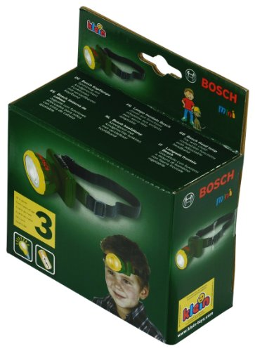 Theo Klein 8458 Bosch Head Lamp, Toy, Multi-Colored
