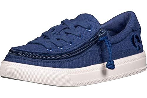 BILLY Footwear Boys Classic Lace Low Top Casual Adaptive Sneakers (Toddler/Little Kid/Big Kid) Navy 3 Little Kid M