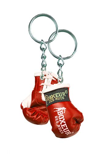Boxeur des rues Guante Llavero Rojo