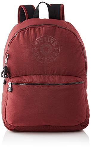 Kipling Bolsa de mochila, Marrom preto, 12.5x32.5x44 cm (LxWxH)