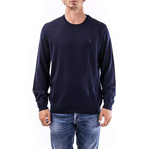 Polo Ralph Lauren Maglia in Lana Merino Aderente Uomo MOD. 710714346 L