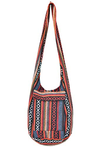 Bags for Women Sale Boho Purses Cotton Bag For Unisex By Your Cozy (Naga02)