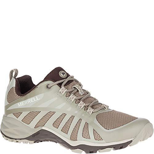 Merrell Siren Edge Q2, Zapatillas de Senderismo para Mujer, Gris (Aluminum), 37 EU