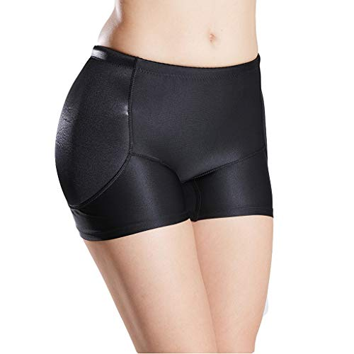 ZAYZ Mujeres Butt Enhancer Fajas, Acolchado Lateral de Cadera Cómodo de Llevar, Acolchado Fijo Ropa Interior Levantador de Glúteos (Size : X-Large)