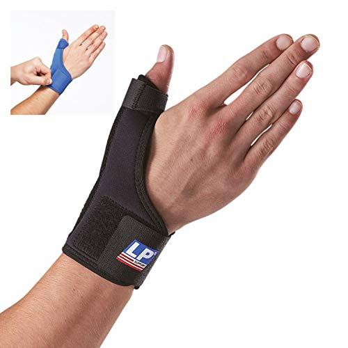 LP Support 763 Daumenorthese - Daumen-Bandage aus der Basic Serie - Daumenstütze - Handbandage, Größe:M, Farbe:blau