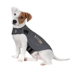 HELPING MILLIONS OF DOGS: With over an 80% success rate, ThunderShirt is recommended by thousands of vets, trainers, and pet owners alike. Combine use with our effective ThunderEase for double the calming power. ORIGINAL DOG CALMING WRAP: The patente...