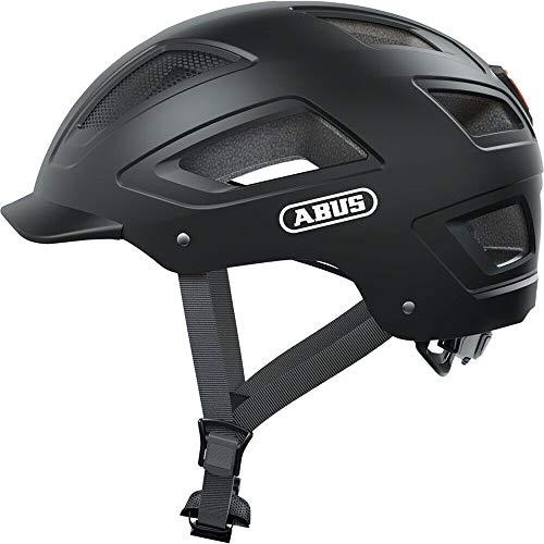 ABUS Unisex-Erwachsene Hyban 2.0 Fahrradhelm, Velvet Black, L (56-61)