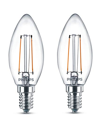Philips LED Classic, 25W, B35 E14 WW, CL ND 2BC/6
