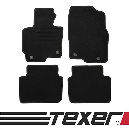 TEXER Textil Fußmatten Passend für Mazda CX-5 Bj. 2012-2017 Basic
