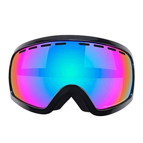 Queen Boutiques Lunettes De Ski Professionnelles Equipement De Ski De Plein Air Grandes Lunettes De Ski Sphériques Anti-buée Double (Color : 3)