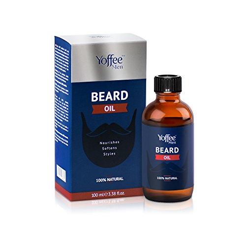 Yoffee - Öl für Herrenbart - 100% Natürliches Barber-Pflegeöl, Pflegt und Nährt Ihren Bart, 100 ml