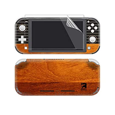 eXtremeRate Full Set Faceplate Skin Decal Stickers for Nintendo Switch Lite/NSL Console with 2Pcs Screen Protector