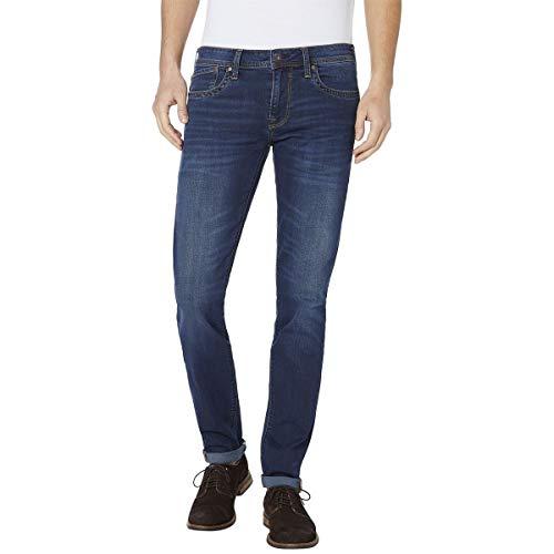 Pepe Jeans Herren Jeans Hatch, Blau (Denim Cm8), W40/L30