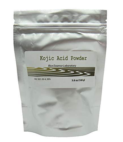 Kojic Acid Powder, Pure 99.5%, Natural, 100g
