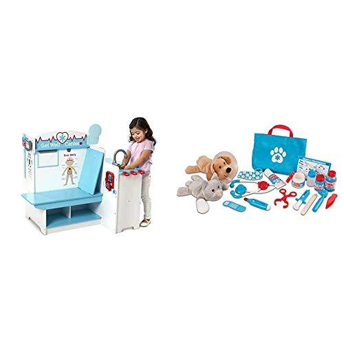 Melissa & Doug Doctor Activity Center & Pet Vet Play Set