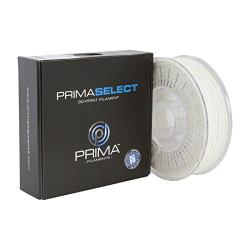PrimaCreator PrimaSelect - Filamento para impresora 3D (PLA, 2,85 mm, 750 g), color blanco