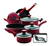 Farberware 14383 New Traditions Nonstick Cookware Pots and Pans Set, 12-Piece,...