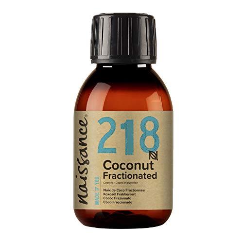 Naissance Huile de Coco Fractionnée (n° 218) - 100ml – 100% pure et naturelle – inodore, légère et émolliente, sans film gras