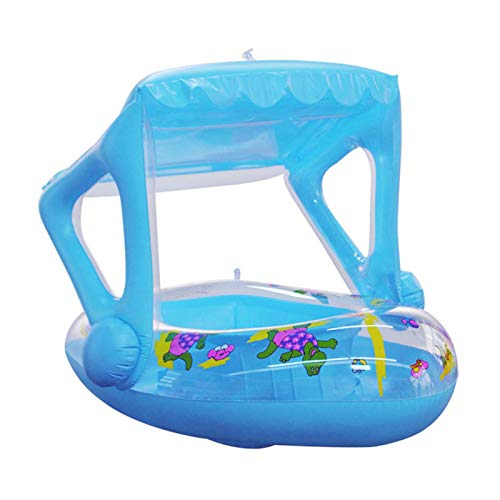 Flotador de piscina para bebés,bote inflable de dibujos animados para niños,tumbonas inflables para piscina, diversión de verano, juguetes para piscina al aire libre, balsa flotante para bebés y niños