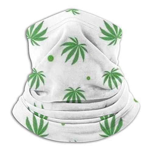 Verde Plantas Cuello Escudo Bufanda Pasamontañas Máscara Cara Pañuelo Negro Bandana Para Yoga Correr Senderismo