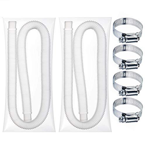 AmandaJ manguera de repuesto para piscina sobre el suelo, accesorios de bomba de piscina, manguera de bomba de filtro de piscina, fácil de instalar