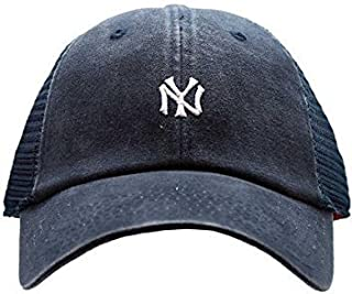 American Needle New York Yankees Raglan Bone Micro Hat, Navy