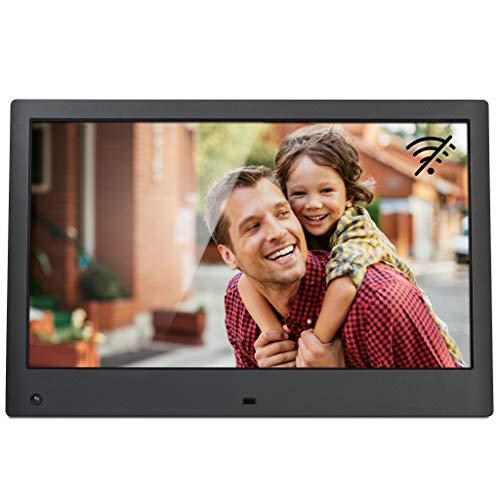 NIX Advance Marco Digital Fotos y Videos 13 Pulgadas Full HD. Pantalla IPS. Calendario, Reloj. Auto on/Off. Rotación automática. 8GB USB Incluido