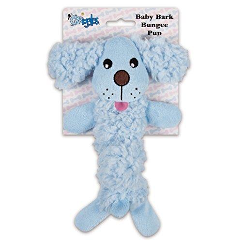 Bébé écorce Bungee Pup, Bleu